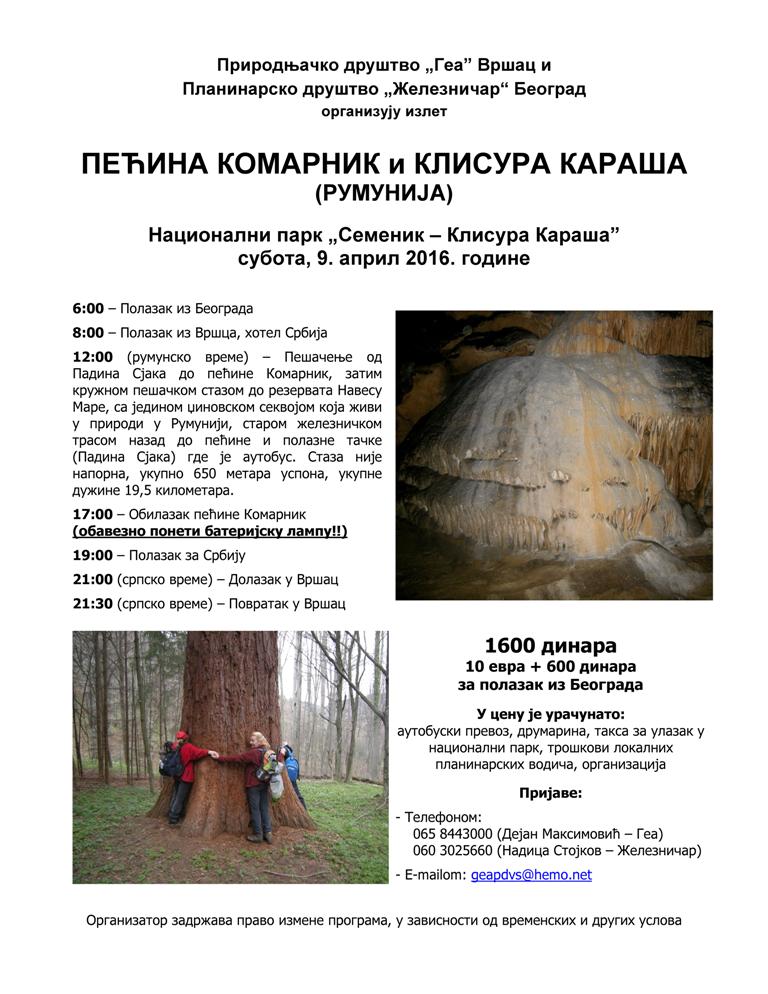 Komarnik Karas - Program 2016-001